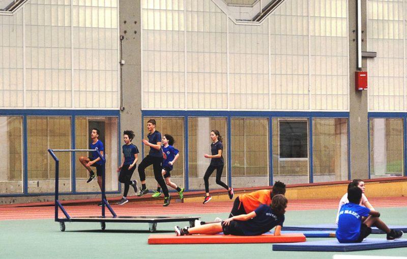 Hallentraining 2019 Uni Mainz